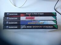 Bundle of 4 Nintendo GameCube Games