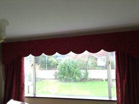Laura Ashley curtains and pelmet