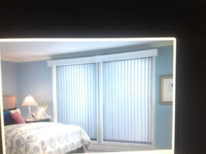 PATIO DOOR VERTICAL BLINDS