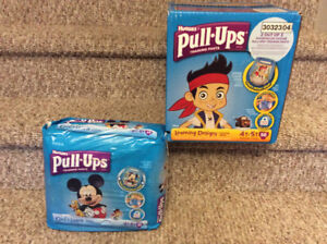 New! Huggies pull ups lot of size 4-5