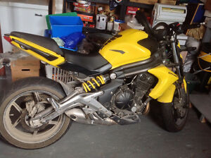 Kawasaki 650! Only 1 owner, only 1500 kms! Price reduced!