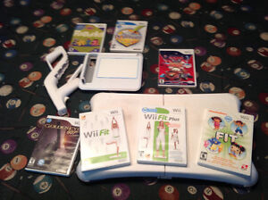 Wii fit Wii draw and games