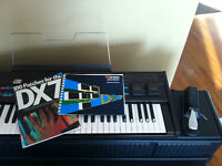 Synthétiseur Yamaha DX-7 Synthesizer