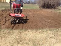 Get your garden rototilled today!