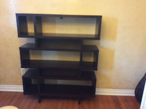 Expresso finish shelve