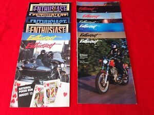 13 Harley Davidson Enthusiast Magazine fom 1985 to 1991 West Island Greater Montréal image 3