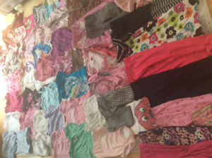 Girls clothing everything you need ages 3-5 name brands  $1000+
