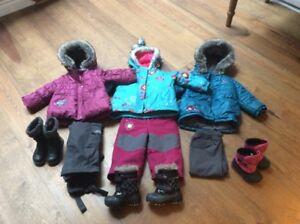 Vêtements d'hiver / Habits de neige