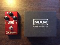MXR M78 Custom Badass 78' distortion pedal - boxed and VGC