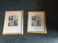 Brand new large picture frames for sale.