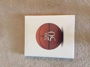 NBA at 50   -  hardcover basketball book