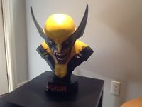 Sideshow life size bust Wolverine ..Sold out ..very Rare