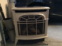 Majestic Natural Gas Cast Iron Direct Vent Stove