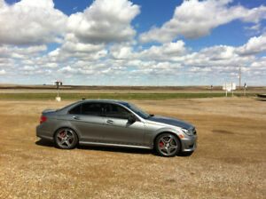 2012 Mercedes-Benz C-Class C 63 AMG Sedan
