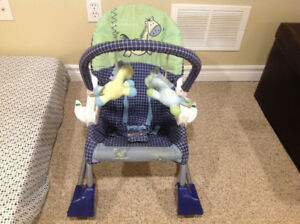 Fisher price rocker chair birth to 4 years old new condition