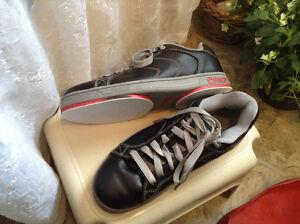 Ladies size 8 curling shoes