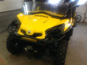 can am commander xt 2012