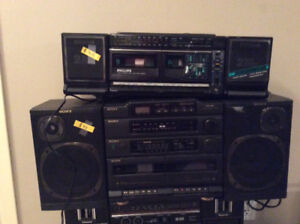 Older BoomBoxes and Clock Radios