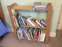 FREE wooden bookshelf or storage space