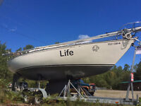 CnC 29 Mark1 4'draft => Deliver + Low price + TLC = Spring Sail