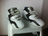 Brand New White & Black Sneakers, size 12.