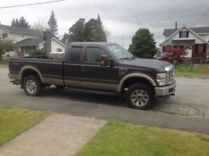 2008 Ford F-350 Stone-brown Pickup Truck