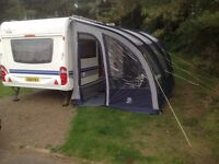 SUNCAMP 390 AWNING WITH BEDROOM