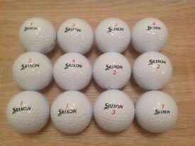 12 SRIXON DISTANCE GOLF BALLS