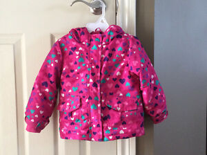Toddler girls winter coat