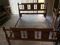 Roxton Maple Double Bed