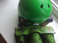 Free style helmet and skate protection pack