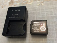 New original Panasonic battery DMW-BLB13PP and Charger