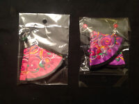 New Handmade Vintage Chinese Embroidery Earrings 2/$10.00