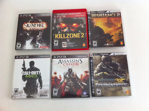 PS3 games in great shape/smoke free home