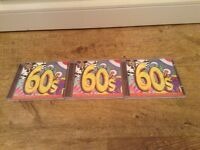 Selection of 60's, 70's and No.1's CD's