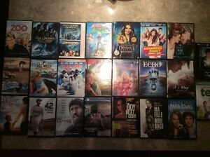 Lot de 23 DVDs: Ted, Willy, Percy Jackson, Disney,...