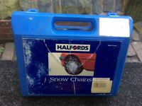 Halfords snow chains for cars