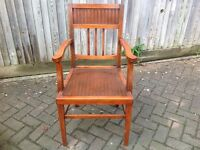 Very handsome carver chair