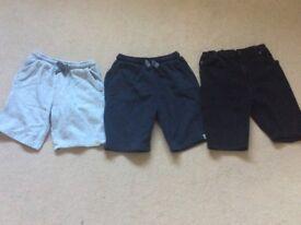 Boys Shorts Aged 11