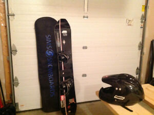 Snowboard and full fa for sale