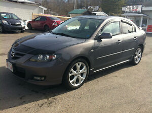 2008 MAZDA 3, LEATHER, MOONROOF, 832-9000 OR 639-5000