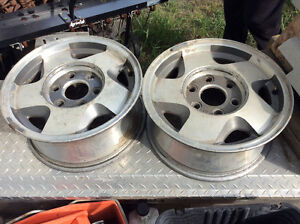 Pair of good shape Rims for 1 price