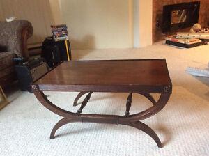 Table antique art deco moderne vintage