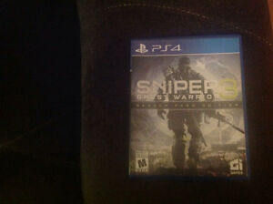 Sniper Ghost Warrior 3 for the PS4