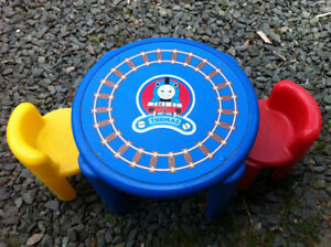 Moving!! - Thomas the Tank Engine Table and Chairs