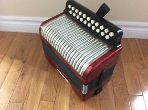 Hohner Erica button accordion, AD. St. John's Newfoundland image 2