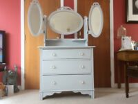 A stunning chest of drawers/dressing table.