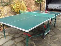 Kettler Table tennis table full size ( indoors only )
