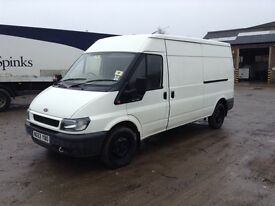 2003 ford transit 2.4 tddi 90t350 lwb medium roof van