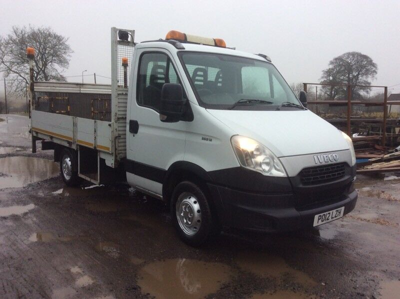 IVECO DAILY 35c13 DROPSIDE TRUCK 2.3 TD 2012 12 REG